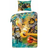 Dětské bavlněné povlečení Lego Nexo 383, 140 x 200 cm, 70 x 90 cm