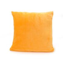 Polštářek Mikroplyš New tmavě žlutá, 40 x 40 cm
