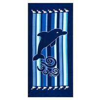 Delfin strandtörölköző, 70 x 150 cm