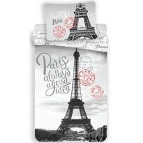 Bavlněné povlečení Paris Good Idea, 140 x 200 cm, 70 x 90 cm