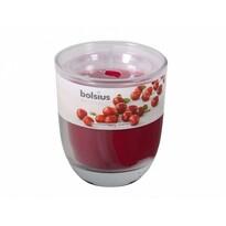 Svíčka ve skle Brusinka, 110 g