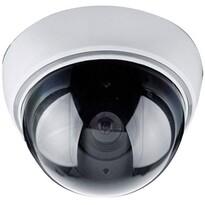 Solight Maketa bezpečnostnej kamery na strop, strieborná