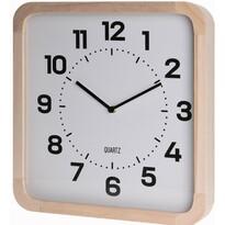 Nástenné hodiny Square biela, 40 cm