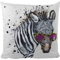 Butter Kings Poduszka dekoracyjna Cool zebra, 50 x 50 cm