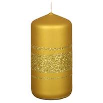 Főnix karácsonyi gyertya, arany