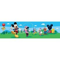 Samolepiaca bordúra Mickey Mouse a jeho priatelia, 500 x 14 cm