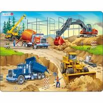 Larsen Puzzle Na budowie, 30 części