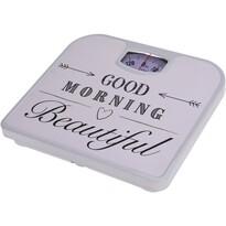 Osobní mechanická váha Good morning, bílá