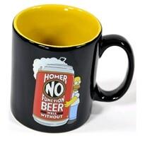 The Simpsons Kubek ceramiczny Homer No Beer 320 ml