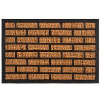 Kokosová rohožka Tehla, 40 x 60 cm