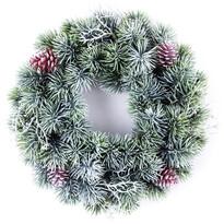 Vánoční věnec Merida zelená, pr. 36 cm