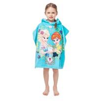 Detské pončo Ľadové Kráľovstvo Frozen, 60 x 120 cm