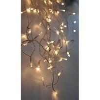 Solight Vánoční závěs Rampouchy 120 LED teplá bílá, 3 m