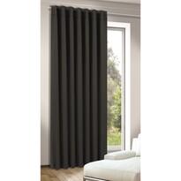 Tina sötétítő függöny, fekete, 245 x 140 cm