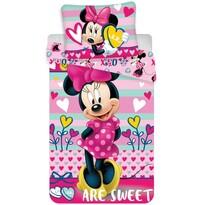 Detské obliečky Minnie sweet micro, 140 x 200 cm, 70 x 90 cm