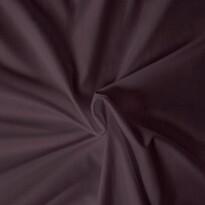Cearşaf din satin, maro închis, 160 x 200 cm