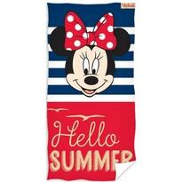 Ręcznik kąpielowy Minnie Mouse Hello Summer, 70 x 140 cm