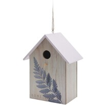 Domek dla ptaków Feather, różowy