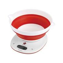 Renberg Digitálna kuchynská váha červená