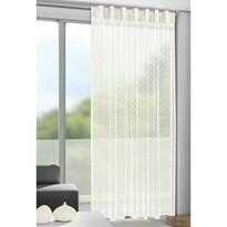 Záclona s pútkami Calli béžová, 140 x 245 cm