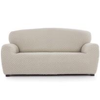 Husă multielastică Contra, pentru canapea, crem, 180 - 220 cm