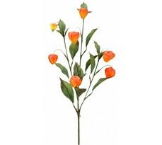 Umelá kvetina vetvička physalis