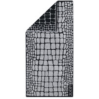 JOOP! Ręcznik kąpielowy Gala Croco Graphit, 80 x 200 cm