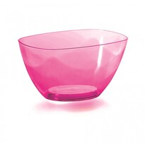Coubi dekoratív tál, rózsaszín, 20 cm