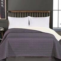 DecoKing Narzuta na łóżko Salice szary, 240 x 260 cm
