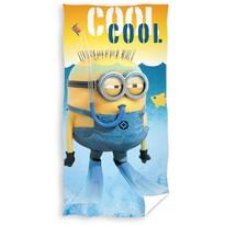 Ręcznik kąpielowy Minionki Cool, 70 x 140 cm