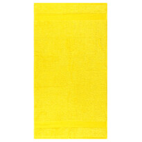 Osuška Olivia žltá, 70 x 140 cm