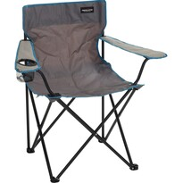 Skládací židle Campeggio, šedá