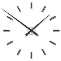 Future Time FT9100BK Modular black Designerski zegar naklejany, śr. 85 cm