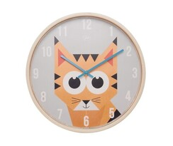 Karlsson JIP0903 detské nástenné hodiny s tygrom