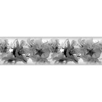 Samolepicí bordura Orchideje, 500 x 14 cm