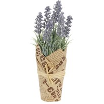 Umělá rostlina Levandule, fialová