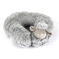 Bárányka utazópárna szürke, 30 cm