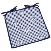 Sedák Country kocka modrá, 40 x 40 cm