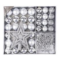 Vánoční set Luxury, stříbrná