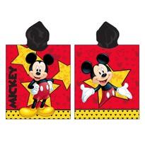 Dětské pončo Mickey star, 50 x 115 cm