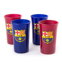 FC Barcelona Set 4 štamperlíkov, Colored