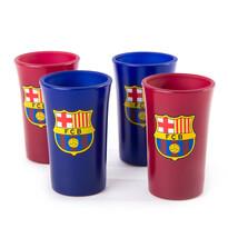 FC Barcelona Set 4 štamprlí, Colored