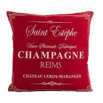 Obliečka na vankúšik Gobelín Champagne červený, 45 x 45 cm