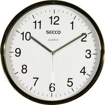 SECCO S TS6050-57 (508) Nástěnné hodiny, bílá