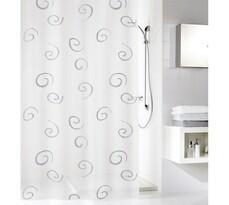 Kúpelnový záves  Silver Meusch sivá, 180 x 200 cm
