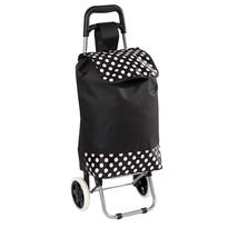 Nákupní taška na kolečkách Puntík, černá