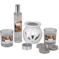 Set lumânări şi aroma-lampă Aromatico Mellow moment, 10 buc.