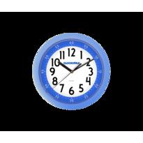 Zegar ścienny Clockodile niebieski, śr. 25 cm