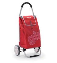 Gimi Galaxy nákupná taška na kolieskach červená