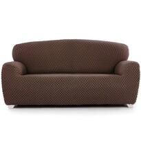 Husă multielastică Contra, pentru canapea, maro